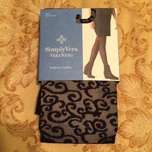 Simply Vera by Vera Wang Scroll Mesh Tight
